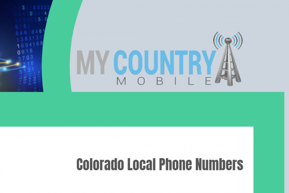 Colorado Local Phone Numbers - My Country Mobile