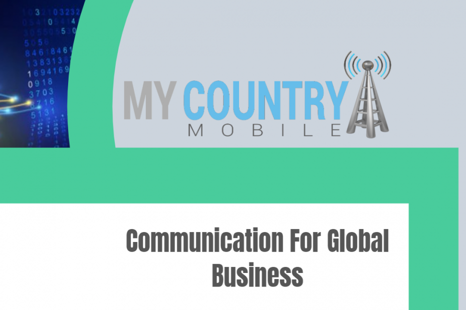 Communication For Global Business - My Country Mobile