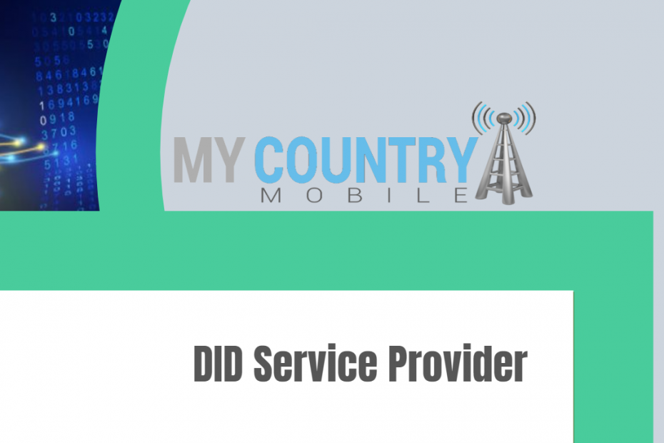 DID Service Provider - My Country Mobile